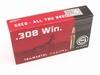 Geco .308 Win. Softpoint 170grn patronen 20st.