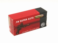 Geco 38 Super Auto FMJ 124Grn  50 stuks